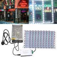 200PCS SMD5050 RGB LED Club Store Front Window Sign Module Light DC12V