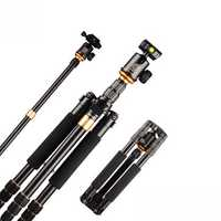 Q999S Travel Tripod 1440mm Aluminum Professional Camera 36cm Tripod with Ball head Monopod Q9S Kit for DSLR SLR Camera