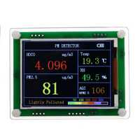 B3 PM2.5 Detector Module Air Quality Dust Sensor TFT LCD Display Monitor Home Car