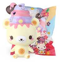 Yummiibear Squishy Flower Fields Butterfly Flower Scented Creamiicandy 12cm Licensed Slow Rising Toy