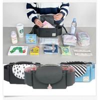 Universal Baby Strollers Organizer Pram Diaper Toy Handing Storage Handy Buggy Hook Bag