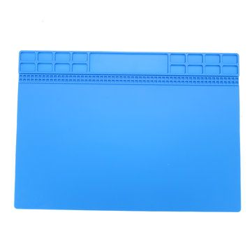 35x25cm Magnetic Heat Resistant Silicone Pad Desk Mat Maintenance Platform Heat Insulation BGA Soldering Repair Station