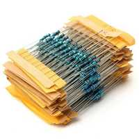 500pcs 50 Value 1/4W 0.25W 1% Metal Film Resistor Assortment Kit