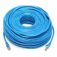 50M/164Feet RJ45 CAT6 CAT6E Ethernet Internet LAN Wire Networking Cable Cord Blue