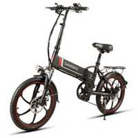 Samebike XW-20LY 350W Smart Folding Electric Bike 35km/h Max. Speed 48V 10AH E-Bike