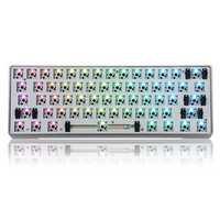 [Aluminum Alloy Version] Geek Customized GK61 Hot Swappable 60% RGB Keyboard Customized Kit PCB Mounting Plate