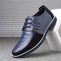 Big Size Men Microfiber Oxfords Shoes