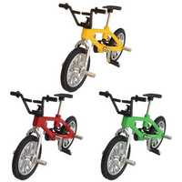 Cool Finger Alloy Bicycle Set Children Kid Model Rare Small Mini Toy