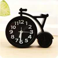 Creative Portable Mini Mute Children Student Clock Bike Office Table Alarm Clocks Home Decor