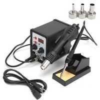 8586 110V Professional SMD Soldering Station + Hot Air Gun Welding Tool