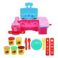 DIY Plasticine Child Game Ice Cream Making Tool Set Developmental Toys