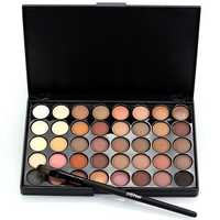 Banggood 40 Colors Mini Eye Shadow Palette Set Kit Glitter Shimmer Cosmetic Portable Eye Makeup