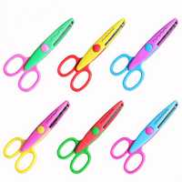 Decorative DIY Zig Zag Sewing Scissors Mini Curly Shears Creative Edge Wave Flower For Crafts Fabric