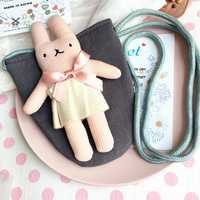 1-3 Years Old Children Lovely Rabbit Cartoon Crossbody Bag Casual Shoulder Bag