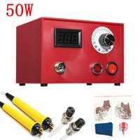 220V 50W Digital Multifunction Pyrography Machine Gourd Wood Pyrography Crafts