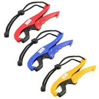 6'' Portable Fish Grip ABS Holder Control Stainless Steel Fishing Gripper Pliers Grabber