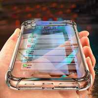 Bakeey Air Bag Shockproof Transparent Soft TPU Protective Case for SHARP AQUOS S3
