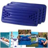 PVC Inflatable Beer Pong Table 22 Cups Holder Water Float Mat Pool Party Drinking Game