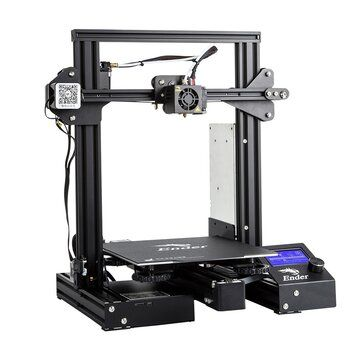 Creality 3D® Ender 3 Pro Prusa I3 DIY 3D Printer 220x220x250mm Printing Size With Magnetic Removable Platform Sticker/Power Resume Function/Off line Print/Patent MK10 Extruder/Simple Leveling