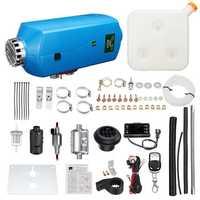 12V 5KW Diesel Air Heater Diesel Parking Heater Set LCD Timer Switch with 10LTank