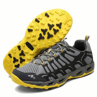 US 7.5-10 Outdoor Men's Sport Soft Running Climbing Hiking Mesh Athletic Trail Sneakers Shoes
