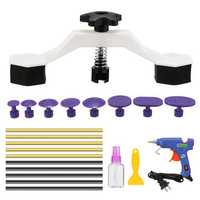 PDR Paintless Dent Repair Puller Bridge Tool Car Body Damage Removal Tool Kit