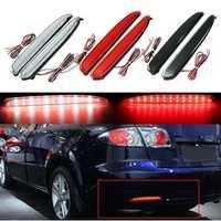 2pcs LED Rear Bumper Brake Tail Stop Running Turning Light Turn Signal Light For Mazda 6 03-08