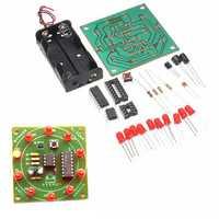 DIY Wheel Of Fortune Training Module Kit Electronic Lucky Rotary LED Flash Kit