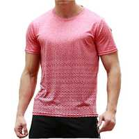 Mens Rapid Perspiration Sport Casual Short Sleeve T-Shirts