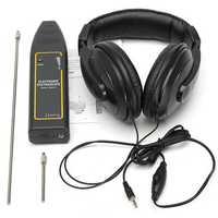 Electronic Stethoscope Earphone Leak Detector Water Pipe Detection Equipment Kit