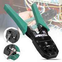 RJ45 Ethernet Network LAN Tool Kit Network Cable Crimper Crimping Plier Stripper