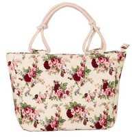 Women Canvas Handbag Large Capacity Casual Bag