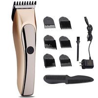 JINDING Rechargeable Hair Clipper Washable Trimmer Bread Shaver Grooming Men Child 110-240V