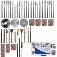58pcs Assorted Sanding Grinding Polishing Rotary Tool Accessory Set Abrasive Tool