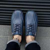 Menico Genuine Leather Business Casual Oxfords