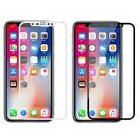 Glass-M 3D Curved Edge Explosion Proof Anti Fingerprint Tempered Glass Screen Protector For iPhone XS/X