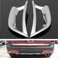 2pcs Chrome Rear Tail Light Trim Decoration Cover For Honda CRV CR-V 2012-2014