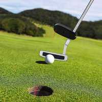 Golf Putter Laser Sight Training Aid Practice Aim Line Corrector Pointer Trainer Guide