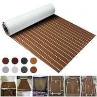 8 Styles 900x2000x5mm Marine Flooring Faux Teak EVA Foam Decking Sheet