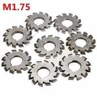 Module 1.75 PA20 HSS #1-8 Involute Gear Milling Cutter Inside Bore 22mm