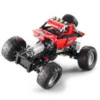 Doublee CaDa Off-road Climbing Car Technology Machinery Group Remote Control Assembly Blocks Toys