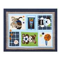 7 Pcs Infant Baby Bedding Sets Crib Cot Set Nursery Quilt Bumper Sheet Blanket Cover