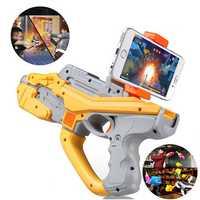 ABS Plastic AR Magic Launcher APP Software Games White Orange Color Novelties Toys