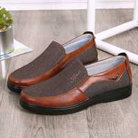 Men Casual Lightweight Comfy Slip On Oxfords