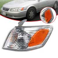 Front Left Side Marker Lights Parking Corner Turn Signal Lamp Cover for Toyota Camry 2000-2001