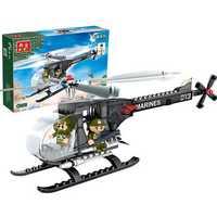 BanBao Helicopter Plane Blocks Toys Educational Building Bricks Model Toys