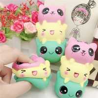 5.5 Inches Squishy Toy Kawaii Slow Rising Cartoon Squeeze Stress Reliever Gift Collection