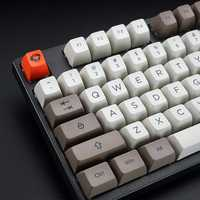 AKKO Steam Engine 108 Key SA Profile PBT Keycaps SA Keycap Set for Mechanical Keyboard