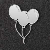 Balloon Metal Scrapbook Photo Album Paper Work Craft DIY Cutting Dies