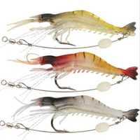 ZANLURE 3PCS 7.5CM Fishing Lures Crankbaits Hooks Minnow Baits Tackle